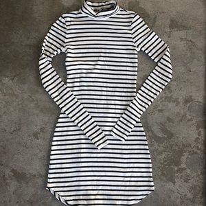 Rebecca Minkoff 'Minnie' Turtleneck Jersey Dress